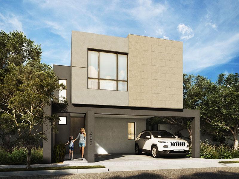 Casa en Saltillo modelo Bari 2
